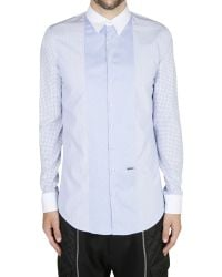 DSquared2 Cotton Patchwork Shirt Carpenter - Lyst