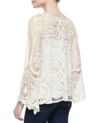 Golden by JPB - Juliette Lace Top - Lyst