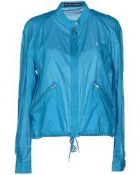 Ralph Lauren Jacket blue - Lyst