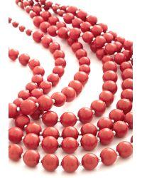 Zad Fashion Inc. - You Bijou Necklace in Strawberry - Lyst