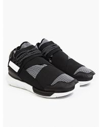 Y-3 Men'S Qasa High Sneakers - Lyst