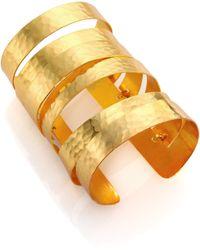 Josie Natori - Layered Cuff Bracelet - Lyst