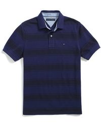Tommy Hilfiger Custom Fit Pique Polo - Lyst
