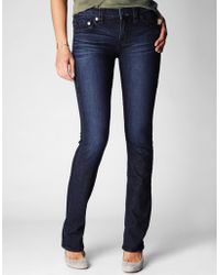 True Religion Cora Straight Super T Womens Jean - Lyst
