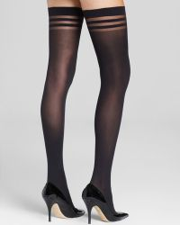 Pretty Polly Alice + Olivia By Stay-Up Thigh Highs - Lyst