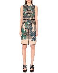 Erdem Brenton Embroidered Dress - Lyst