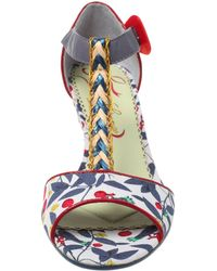 Poetic Licence - Poetic License Miss Quoted Wedge Heel Sandals - Lyst