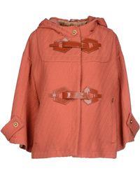 John Galliano Jacket pink - Lyst