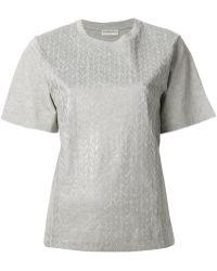 Balenciaga Foliage Print T-Shirt - Lyst