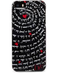 Diane Von Furstenberg Printed Iphone 5 Case - Lyst