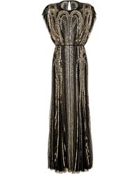 Jenny Packham G Sequin Dress - Lyst