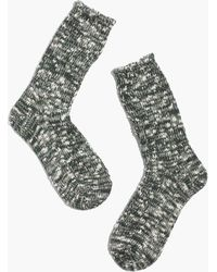 Madewell Anonymous Ism Slub Trouser Socks - Lyst