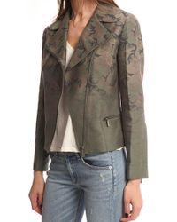 Lucien Pellat Finet Gradation Camouflage Jacket green - Lyst