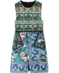 Burberry Prorsum   Short Dress   Lyst