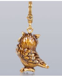 Jay Strongwater - Albert Owl Charm - Lyst