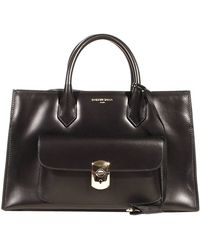 Balenciaga Handbag Padlock Work Xs Leather Shopping with Pocket - Lyst