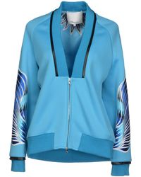 3.1 Phillip Lim Blue Jacket - Lyst
