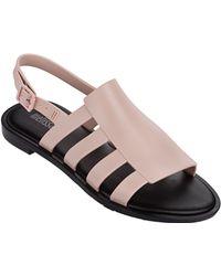 Melissa | Boemia Sandal In Dusty Pink | Lyst