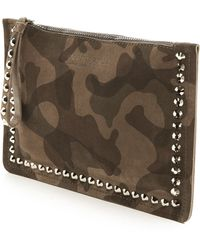 Pedro Garcia - Perfed' Perforated Suede Tote - Lyst