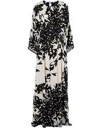 Issa - Heath Embellished Kaftan Gown - Lyst