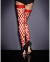 Agent Provocateur | Bubbles Hold Up Red | Lyst
