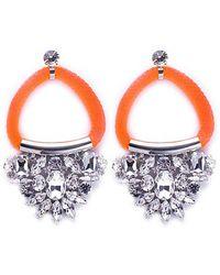 Noir Jewelry Chindarkar Drop Earrings - Lyst