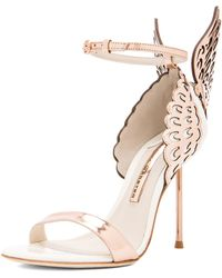 Sophia Webster Evangeline Leather Heels - Lyst