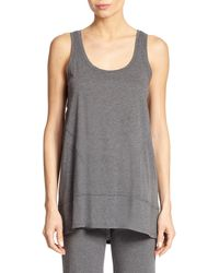 Donna Karan New York Cotton Jersey Pajama Top - Lyst