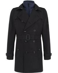 Burberry Brit Kensington Trench Coat with Removable Warmer - Lyst