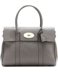 Mulberry - Bayswater Small Leather Tote - Lyst