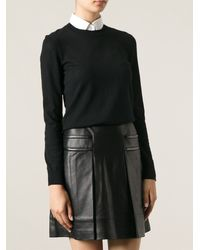 Tory Burch Crew Neck Sweater - Lyst