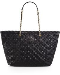 Tory Burch Marion Quilted Tote - Lyst