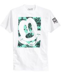 Neff Smile For Me Floral Mickey T-Shirt - Lyst