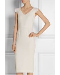 Roland Mouret Atria Wool-Crepe Dress - Lyst