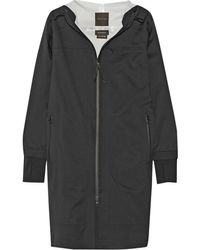 Theory Shadow Hooded Twill Jacket - Lyst