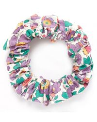 Liberty - Purple Betsy Scrunchie - Lyst