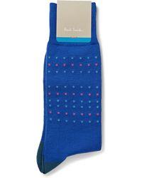 Paul Smith Patterned Cotton-Blend Socks - Lyst
