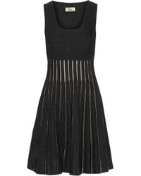 Issa Black Stretchknit Dress - Lyst