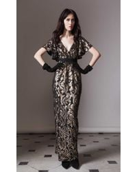 Temperley London Long Phoenix Dress - Lyst
