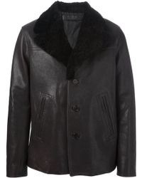 Neil Barrett Classic Aviator Jacket - Lyst