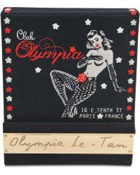 Olympia Le-Tan Club Olympia Clutch - Lyst