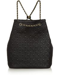 Tory Burch | Marion Quilted Leather Backpack | Lyst