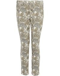 Uniqlo - Angelica Garla Printed Cropped Legging Trousers - Lyst