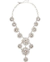 Kate Spade Estate Garden Necklace White - Lyst