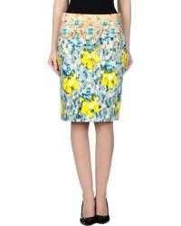 Mary Katrantzou Knee Length Skirt - Lyst