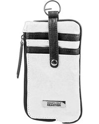 Kenneth Cole Reaction Must Haves Leather Snap Tab Card Case - Lyst