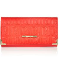 River Island Red Ri Embossed Purse - Lyst
