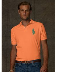 Polo Ralph Lauren Classic Fit Big Pony Polo - Lyst