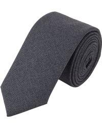 Wooster + Lardini - Worsted Wool Neck Tie - Lyst