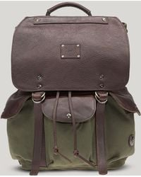 Will Leather Goods Green Lennon Backpack - Lyst